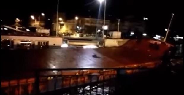 Aνακοίνωση λιμενικού για το φορτηγό πλοίο που προσέκρουσε στην παλιά γέφυρα της Χαλκίδας - e-Nautilia.gr | Το Ελληνικό Portal για την Ναυτιλία. Τελευταία νέα, άρθρα, Οπτικοακουστικό Υλικό