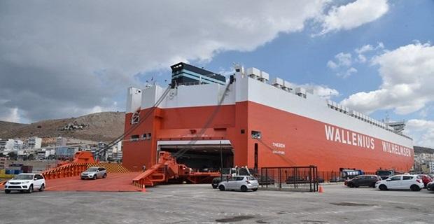 Στο λιμάνι του Πειραιά κατέπλευσε το νεότευκτο πλοίο μεταφοράς οχημάτων «Theben» - e-Nautilia.gr | Το Ελληνικό Portal για την Ναυτιλία. Τελευταία νέα, άρθρα, Οπτικοακουστικό Υλικό