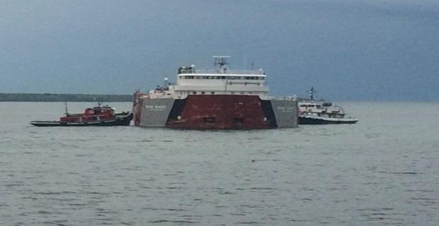 Ανελκύθηκε το προσαραγμένο πλοίο στη λίμνη Σουπίριορ - e-Nautilia.gr | Το Ελληνικό Portal για την Ναυτιλία. Τελευταία νέα, άρθρα, Οπτικοακουστικό Υλικό