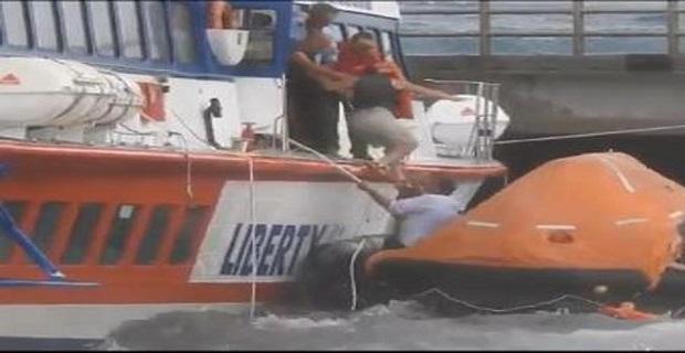 Ο Σιρόκος έριξε δελφίνι πάνω σε προβλήτα στην Σικελία - e-Nautilia.gr | Το Ελληνικό Portal για την Ναυτιλία. Τελευταία νέα, άρθρα, Οπτικοακουστικό Υλικό