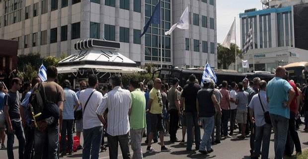 Ολιγόωρη κατάληψη του ΟΛΠ από λιμενεργάτες – απειλούν με κλιμάκωση - e-Nautilia.gr | Το Ελληνικό Portal για την Ναυτιλία. Τελευταία νέα, άρθρα, Οπτικοακουστικό Υλικό