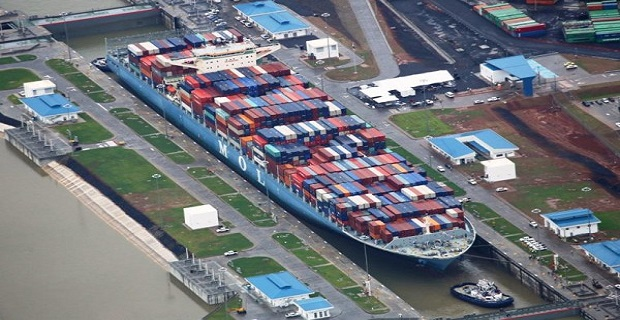 MOL_Benefactor_Neo_Panamax_Containership_panama
