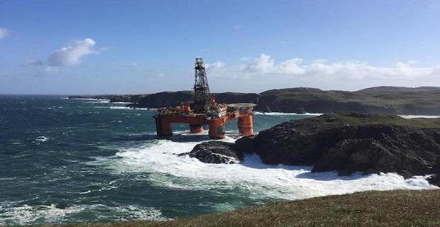 Γεωτρύπανο της Transocean προσάραξε στη Σκωτία λόγω κακοκαιρίας (video+photos) - e-Nautilia.gr   Το Ελληνικό Portal για την Ναυτιλία. Τελευταία νέα, άρθρα, Οπτικοακουστικό Υλικό
