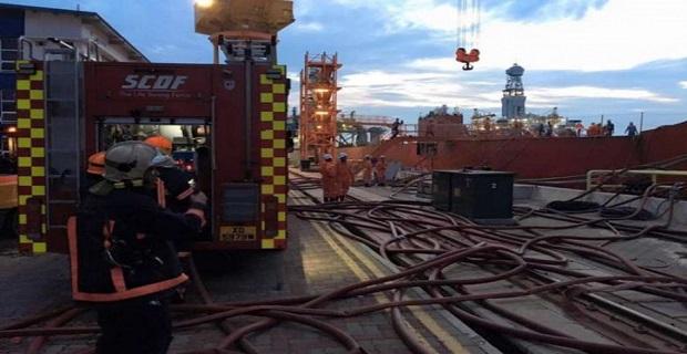 Ένας τραυματίας από 7ώρη πυρκαγιά σε ναυπηγείο της Σιγκαπούρης (photos) - e-Nautilia.gr | Το Ελληνικό Portal για την Ναυτιλία. Τελευταία νέα, άρθρα, Οπτικοακουστικό Υλικό