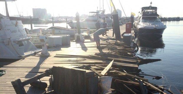Πρόσκρουση πλοίου σε αποβάθρα στη Βαλτιμόρη - e-Nautilia.gr | Το Ελληνικό Portal για την Ναυτιλία. Τελευταία νέα, άρθρα, Οπτικοακουστικό Υλικό
