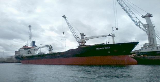 Το τούρκικο πλοίο πάνω στο οποίο φέρεται να εκτυλίχθηκαν αιματηρές συγκρούσεις