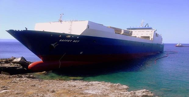 Προσάραξη τούρκικου RoRo πλοίου στη Νεάπολη Λακωνίας - e-Nautilia.gr | Το Ελληνικό Portal για την Ναυτιλία. Τελευταία νέα, άρθρα, Οπτικοακουστικό Υλικό