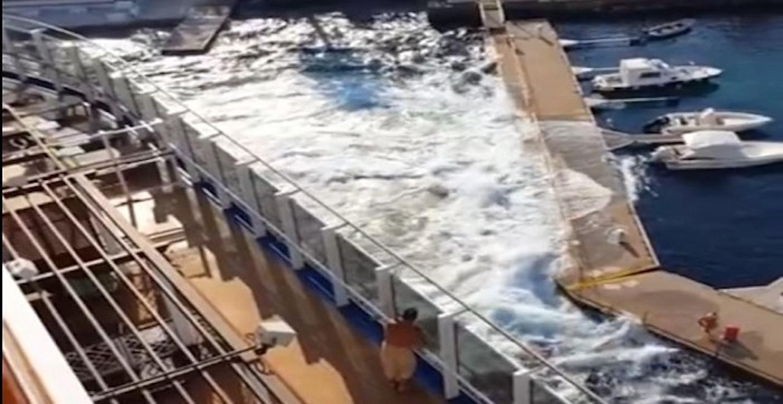 Η καταστροφή ιταλικής μαρίνας από το Carnival Vista από βίντεο επιβάτη (Video) - e-Nautilia.gr | Το Ελληνικό Portal για την Ναυτιλία. Τελευταία νέα, άρθρα, Οπτικοακουστικό Υλικό