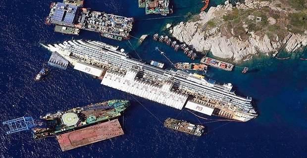 Το τελευταίο ταξίδι του Costa Concordia για σκραπ (video) - e-Nautilia.gr | Το Ελληνικό Portal για την Ναυτιλία. Τελευταία νέα, άρθρα, Οπτικοακουστικό Υλικό