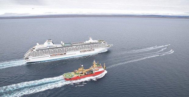 Το Crystal Serenity διέσχισε με επιτυχία το Βορειοδυτικό Πέρασμα - e-Nautilia.gr   Το Ελληνικό Portal για την Ναυτιλία. Τελευταία νέα, άρθρα, Οπτικοακουστικό Υλικό