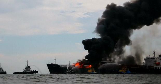 Πυρκαγιά σε tanker της Pemex στον Κόλπο του Μεξικού (photos) - e-Nautilia.gr | Το Ελληνικό Portal για την Ναυτιλία. Τελευταία νέα, άρθρα, Οπτικοακουστικό Υλικό