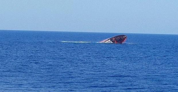 Τούρκικο φορτηγό πλοίο βυθίστηκε βόρεια της Κύπρου - e-Nautilia.gr | Το Ελληνικό Portal για την Ναυτιλία. Τελευταία νέα, άρθρα, Οπτικοακουστικό Υλικό