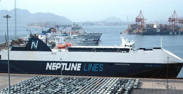 Η Neptune Lines εγκαινίασε τη νέα γραμμή RoRo στη Μέση Ανατολή - e-Nautilia.gr | Το Ελληνικό Portal για την Ναυτιλία. Τελευταία νέα, άρθρα, Οπτικοακουστικό Υλικό