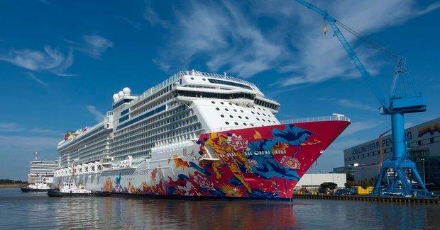 Παραδόθηκε το νέο κρουαζιερόπλοιο της Dream Cruises - e-Nautilia.gr | Το Ελληνικό Portal για την Ναυτιλία. Τελευταία νέα, άρθρα, Οπτικοακουστικό Υλικό