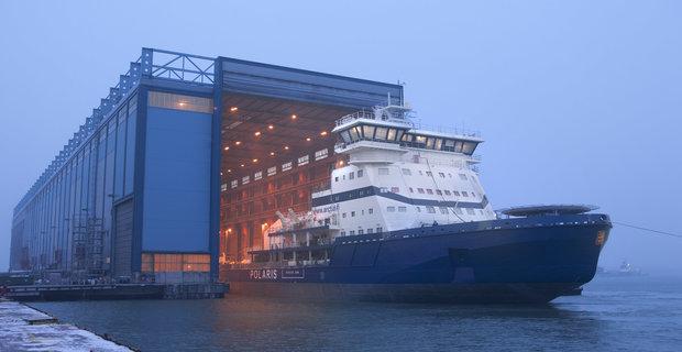 Η Arctech Helsinki παραδίδει το πρώτο παγοθραυστικό που κινείται με LNG - e-Nautilia.gr | Το Ελληνικό Portal για την Ναυτιλία. Τελευταία νέα, άρθρα, Οπτικοακουστικό Υλικό