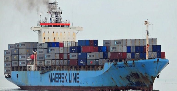 Πυρκαγιά στο μηχανοστάσιο containership της Maersk - e-Nautilia.gr | Το Ελληνικό Portal για την Ναυτιλία. Τελευταία νέα, άρθρα, Οπτικοακουστικό Υλικό