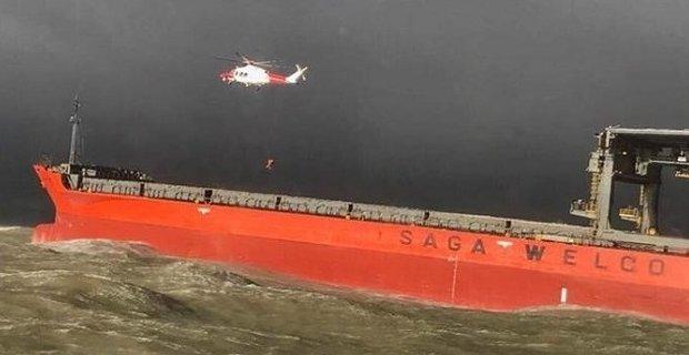 Σύγκρουση εμπορικού πλοίου με φορτηγίδα σε καταιγίδα στην Αγγλία (photos) - e-Nautilia.gr | Το Ελληνικό Portal για την Ναυτιλία. Τελευταία νέα, άρθρα, Οπτικοακουστικό Υλικό