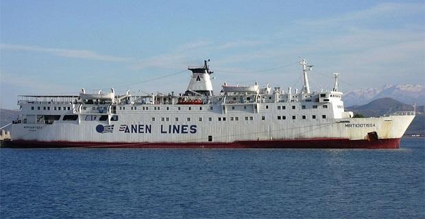 Ακυβέρνητο στον Παγασητικό το πλοίο Μυρτιδιώτισσα με 53 επιβάτες - e-Nautilia.gr | Το Ελληνικό Portal για την Ναυτιλία. Τελευταία νέα, άρθρα, Οπτικοακουστικό Υλικό