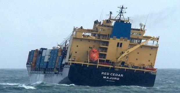 15 containers έπεσαν στη θάλασσα από πλοίο - e-Nautilia.gr   Το Ελληνικό Portal για την Ναυτιλία. Τελευταία νέα, άρθρα, Οπτικοακουστικό Υλικό