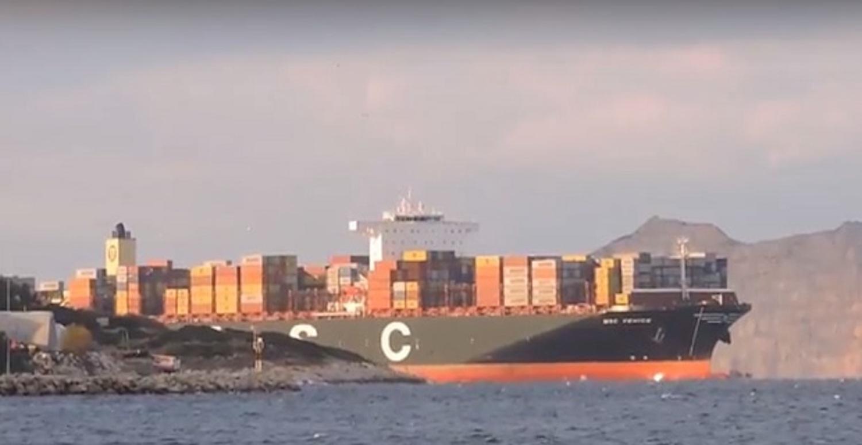 Το τεράστιο MSC VENICE για πρώτη φορά στον Πειραιά (Video) - e-Nautilia.gr | Το Ελληνικό Portal για την Ναυτιλία. Τελευταία νέα, άρθρα, Οπτικοακουστικό Υλικό