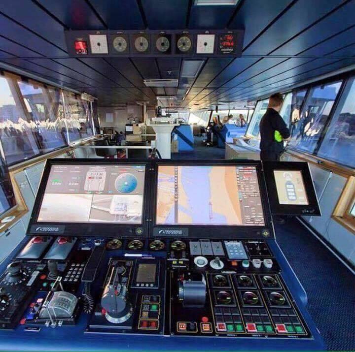 Γέφυρα πλοίου που μοιάζει με διαστημόπλοιο! - e-Nautilia.gr | Το Ελληνικό Portal για την Ναυτιλία. Τελευταία νέα, άρθρα, Οπτικοακουστικό Υλικό