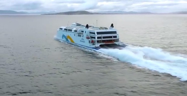 Το ταχύτερο πλοίο στο κόσμο με τροποποιημένες αεριωθούμενες μηχανές! (Video) - e-Nautilia.gr | Το Ελληνικό Portal για την Ναυτιλία. Τελευταία νέα, άρθρα, Οπτικοακουστικό Υλικό