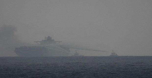 Πυρκαγιά ξέσπασε σε πλοίο container μήκους 295 μέτρων! [βίντεο] - e-Nautilia.gr | Το Ελληνικό Portal για την Ναυτιλία. Τελευταία νέα, άρθρα, Οπτικοακουστικό Υλικό