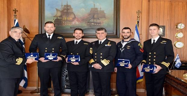 Πολεμικό Ναυτικό: Επιβράβευση Αριστείας και Εξαιρέτων Πράξεων - e-Nautilia.gr | Το Ελληνικό Portal για την Ναυτιλία. Τελευταία νέα, άρθρα, Οπτικοακουστικό Υλικό