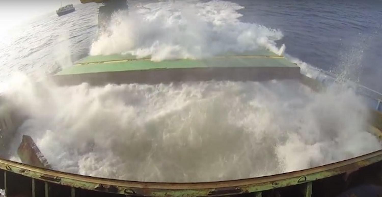 Εντυπωσιακό βίντεο με την βύθιση πλοίου - e-Nautilia.gr | Το Ελληνικό Portal για την Ναυτιλία. Τελευταία νέα, άρθρα, Οπτικοακουστικό Υλικό