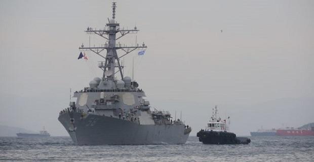 Το αντιτορπιλικό USS Laboon στο λιμάνι του Πειραιά [βίντεο] - e-Nautilia.gr   Το Ελληνικό Portal για την Ναυτιλία. Τελευταία νέα, άρθρα, Οπτικοακουστικό Υλικό