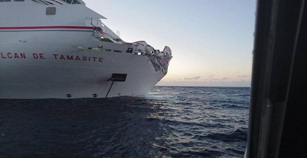 Καρέ- καρέ η πρόσκρουση επιβατηγού πλοίου σε λιμάνι στα Κανάρια νησιά [ΒΙΝΤΕΟ-ΦΩΤΟ] - e-Nautilia.gr   Το Ελληνικό Portal για την Ναυτιλία. Τελευταία νέα, άρθρα, Οπτικοακουστικό Υλικό