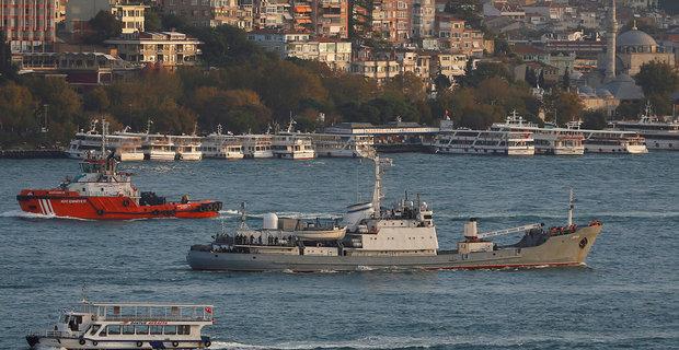 Βυθίστηκε πλοίο του ρωσικού πολεμικού ναυτικού στο Βόσπορο - e-Nautilia.gr | Το Ελληνικό Portal για την Ναυτιλία. Τελευταία νέα, άρθρα, Οπτικοακουστικό Υλικό