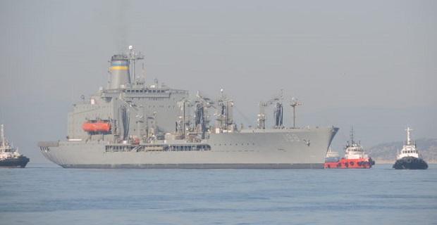 Το εφοδιαστικό USNS BIG HORN T-AO-198 στο λιμάνι του Πειραιά [βίντεο] - e-Nautilia.gr | Το Ελληνικό Portal για την Ναυτιλία. Τελευταία νέα, άρθρα, Οπτικοακουστικό Υλικό