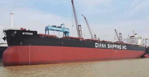 Η  Diana Shipping εξασφάλισε νέες ναυλώσεις για 5 φορτηγά πλοία της - e-Nautilia.gr | Το Ελληνικό Portal για την Ναυτιλία. Τελευταία νέα, άρθρα, Οπτικοακουστικό Υλικό