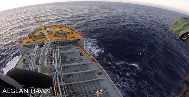 Μεταφορά ασθενούς από δεξαμενόπλοιο με Ελικόπτερο του ΠΝ [βίντεο+ φωτο] - e-Nautilia.gr | Το Ελληνικό Portal για την Ναυτιλία. Τελευταία νέα, άρθρα, Οπτικοακουστικό Υλικό