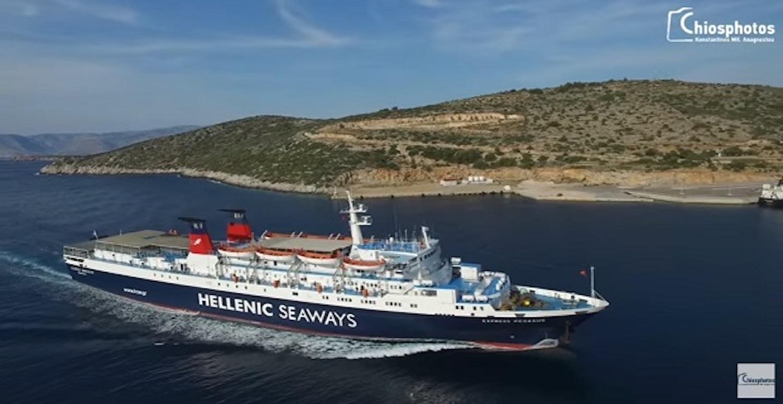 Η μανούβρα του Εξπρές Πήγασος στο λιμάνι των Μεστών της Χίου (Video) - e-Nautilia.gr | Το Ελληνικό Portal για την Ναυτιλία. Τελευταία νέα, άρθρα, Οπτικοακουστικό Υλικό