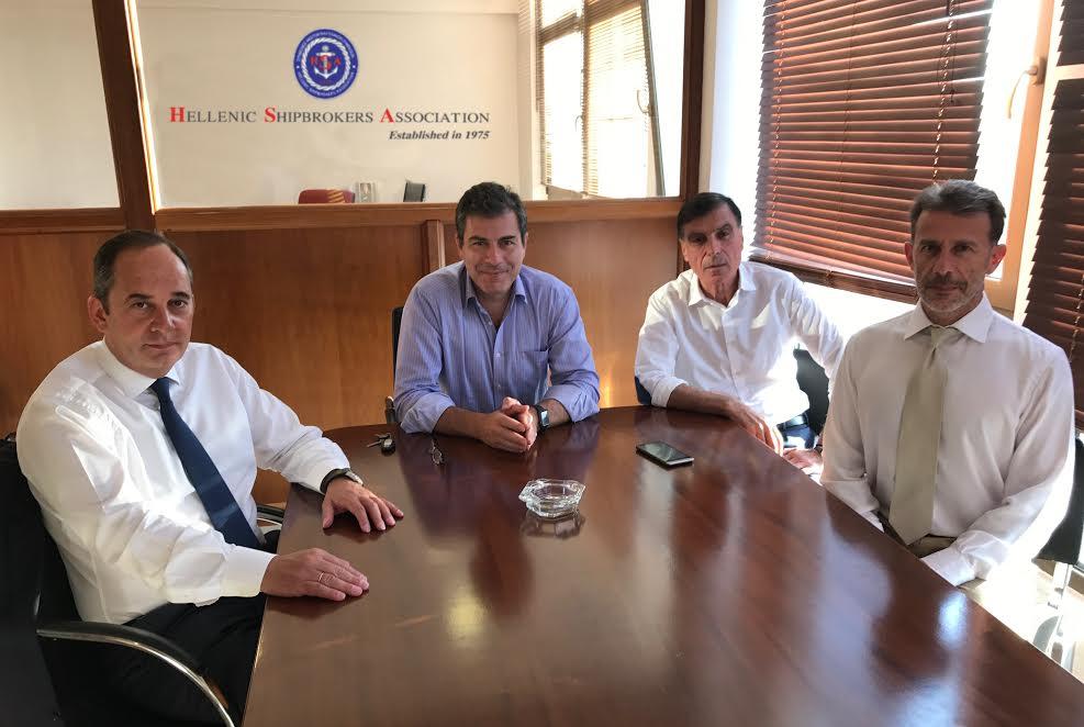 Συνάντηση του κ. Γ. Πλακιωτάκη με το Προεδρείο του Συνδέσμου Μεσιτών Ναυτιλιακών Συμβάσεων - e-Nautilia.gr | Το Ελληνικό Portal για την Ναυτιλία. Τελευταία νέα, άρθρα, Οπτικοακουστικό Υλικό