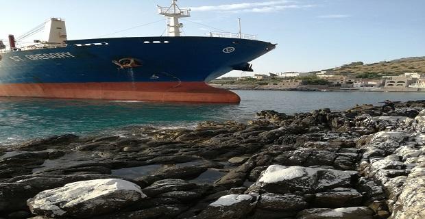 Αποκολλήθηκε το φορτηγό πλοίο που είχε προσαράξει στο Γύθειο - e-Nautilia.gr | Το Ελληνικό Portal για την Ναυτιλία. Τελευταία νέα, άρθρα, Οπτικοακουστικό Υλικό