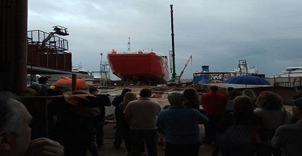 Εντυπωσιακή η τελετή καθέλκυσης του νεότευκτου πλοίου ΠΡΩΤΟΠΟΡΟΣ ΧΙΙΙ στο Πέραμα - e-Nautilia.gr   Το Ελληνικό Portal για την Ναυτιλία. Τελευταία νέα, άρθρα, Οπτικοακουστικό Υλικό
