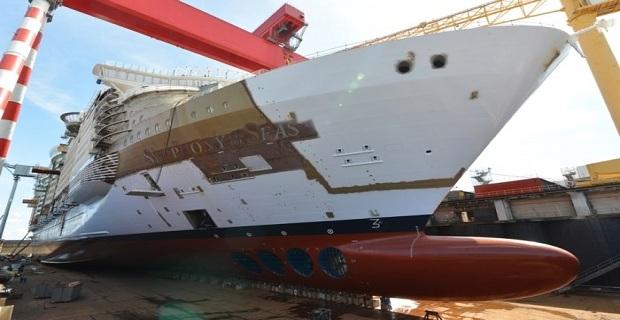 Σχεδόν έτοιμο το κρουαζιερόπλοιο Symphony of the Seas (video) - e-Nautilia.gr | Το Ελληνικό Portal για την Ναυτιλία. Τελευταία νέα, άρθρα, Οπτικοακουστικό Υλικό