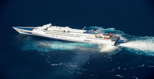 TERAJET: Σε νέα γραμμή για Κυκλάδες το μεγαλύτερο ταχύπλοο παγκοσμίως - e-Nautilia.gr   Το Ελληνικό Portal για την Ναυτιλία. Τελευταία νέα, άρθρα, Οπτικοακουστικό Υλικό