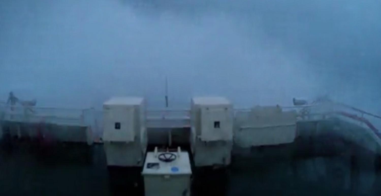 ΒΙΝΤΕΟ: Πλοίο δίνει μάχη σε καταιγίδα με κύματα μεγαλύτερα από 15 μέτρα! - e-Nautilia.gr | Το Ελληνικό Portal για την Ναυτιλία. Τελευταία νέα, άρθρα, Οπτικοακουστικό Υλικό