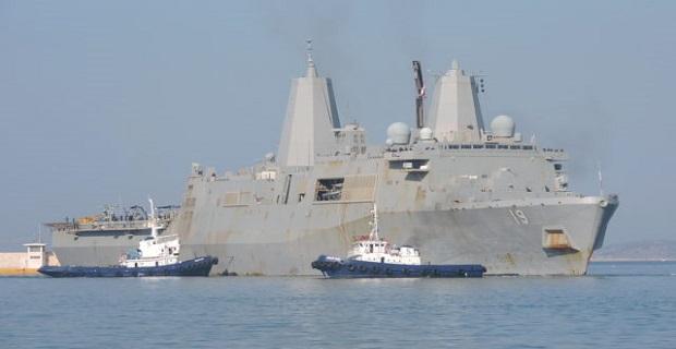 Στον Πειραιά το USS Mesa Verde [βίντεο] - e-Nautilia.gr | Το Ελληνικό Portal για την Ναυτιλία. Τελευταία νέα, άρθρα, Οπτικοακουστικό Υλικό