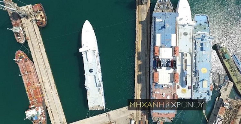 Αίολος Κεντέρης Ι και ΙΙ. Δείτε από ψηλά που κατέληξαν τα πιο γρήγορα πλοία του Αιγαίου! (Video) - e-Nautilia.gr | Το Ελληνικό Portal για την Ναυτιλία. Τελευταία νέα, άρθρα, Οπτικοακουστικό Υλικό