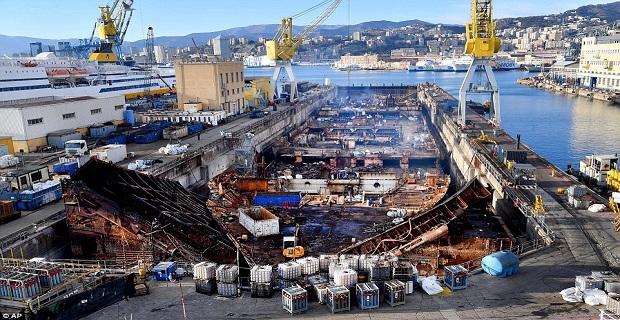 Οριστικά παρελθόν το Costa Concordia – ολοκληρώθηκε η αποσυναρμολόγηση του (video) - e-Nautilia.gr | Το Ελληνικό Portal για την Ναυτιλία. Τελευταία νέα, άρθρα, Οπτικοακουστικό Υλικό