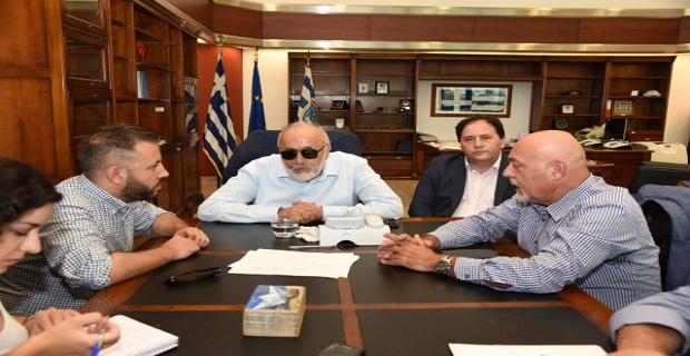 Η ανάπτυξη του λιμένα Βόλου, αντικείμενο συνάντησης στο ΥΝΑΝΠ - e-Nautilia.gr | Το Ελληνικό Portal για την Ναυτιλία. Τελευταία νέα, άρθρα, Οπτικοακουστικό Υλικό