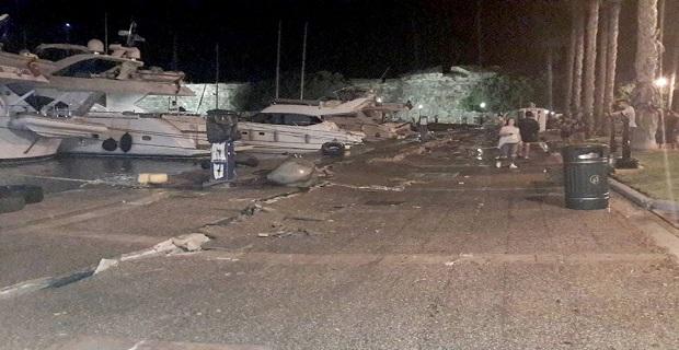 Μεγάλες ζημιές στο λιμάνι της Κω από τον φονικό σεισμό - e-Nautilia.gr | Το Ελληνικό Portal για την Ναυτιλία. Τελευταία νέα, άρθρα, Οπτικοακουστικό Υλικό