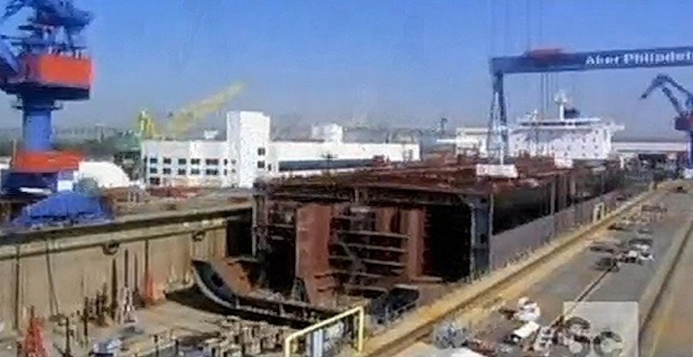 Δείτε πως κατασκευάζεται ένα δεξαμενόπλοιο [video] - e-Nautilia.gr | Το Ελληνικό Portal για την Ναυτιλία. Τελευταία νέα, άρθρα, Οπτικοακουστικό Υλικό