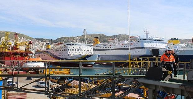 Πρόσκρουση παροπλισμένων πλοίων στο Πέραμα - e-Nautilia.gr   Το Ελληνικό Portal για την Ναυτιλία. Τελευταία νέα, άρθρα, Οπτικοακουστικό Υλικό