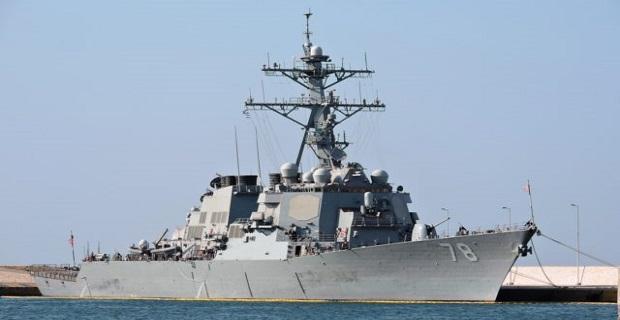 Αναχώρησε το αντιτορπιλικό USS Porter από το λιμάνι του Πειραιά [βίντεο] - e-Nautilia.gr | Το Ελληνικό Portal για την Ναυτιλία. Τελευταία νέα, άρθρα, Οπτικοακουστικό Υλικό
